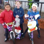 Winning bikes and scooters from Year 4