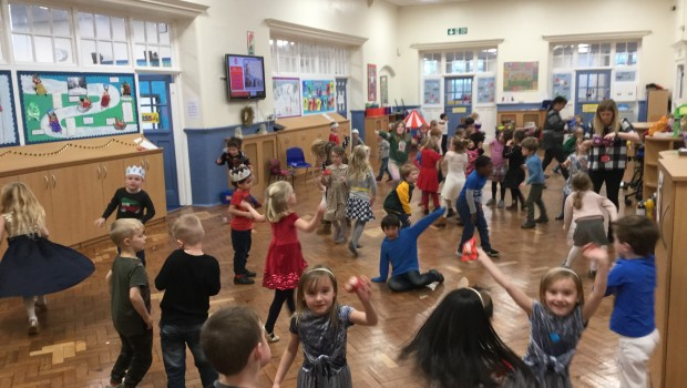 Year 1's Christmas party