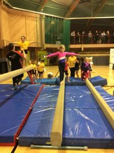 Key Step Gymnastics Competition