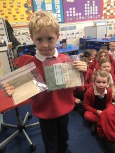 George brought in a Ration Book