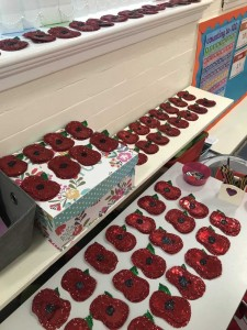 Year 1's Poppies